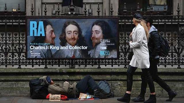 Ο θάνατος ενός 35χρονου άστεγου στο Λονδίνο